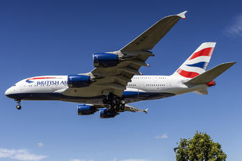 G-XLEI - British Airways Airbus A380
