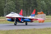 "32 - Russia - Air Force ""Strizhi"" Mikoyan-Gurevich MiG-29 aircraft"
