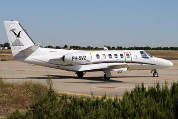 PH-SVZ - Private Cessna 550 Citation II