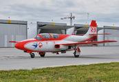 1715 - Poland - Air Force: White & Red Iskras PZL TS-11 Iskra aircraft
