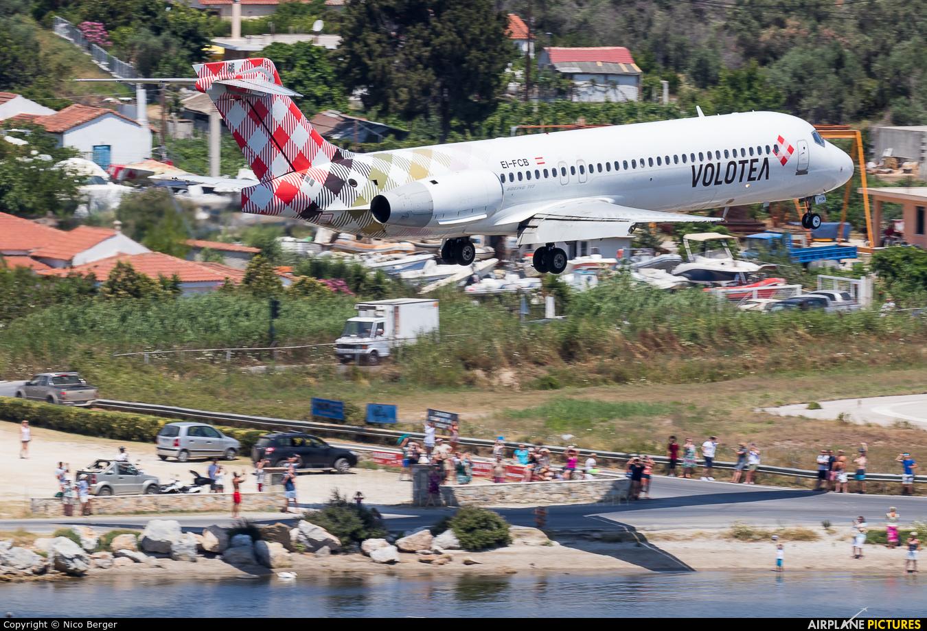 Volotea Airlines EI-FCB aircraft at Skiathos