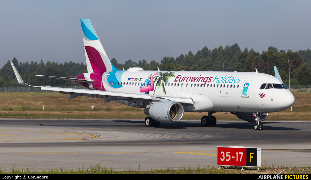 Eurowings Europe OE-IQD aircraft at Porto