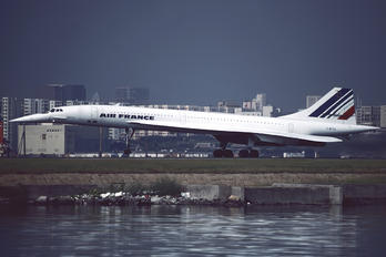 F-BTSD - Air France Aerospatiale-BAC Concorde