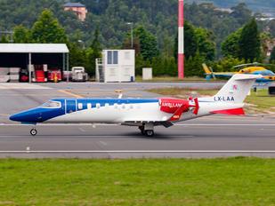 LX-LAA - Luxembourg Air Rescue Learjet 45