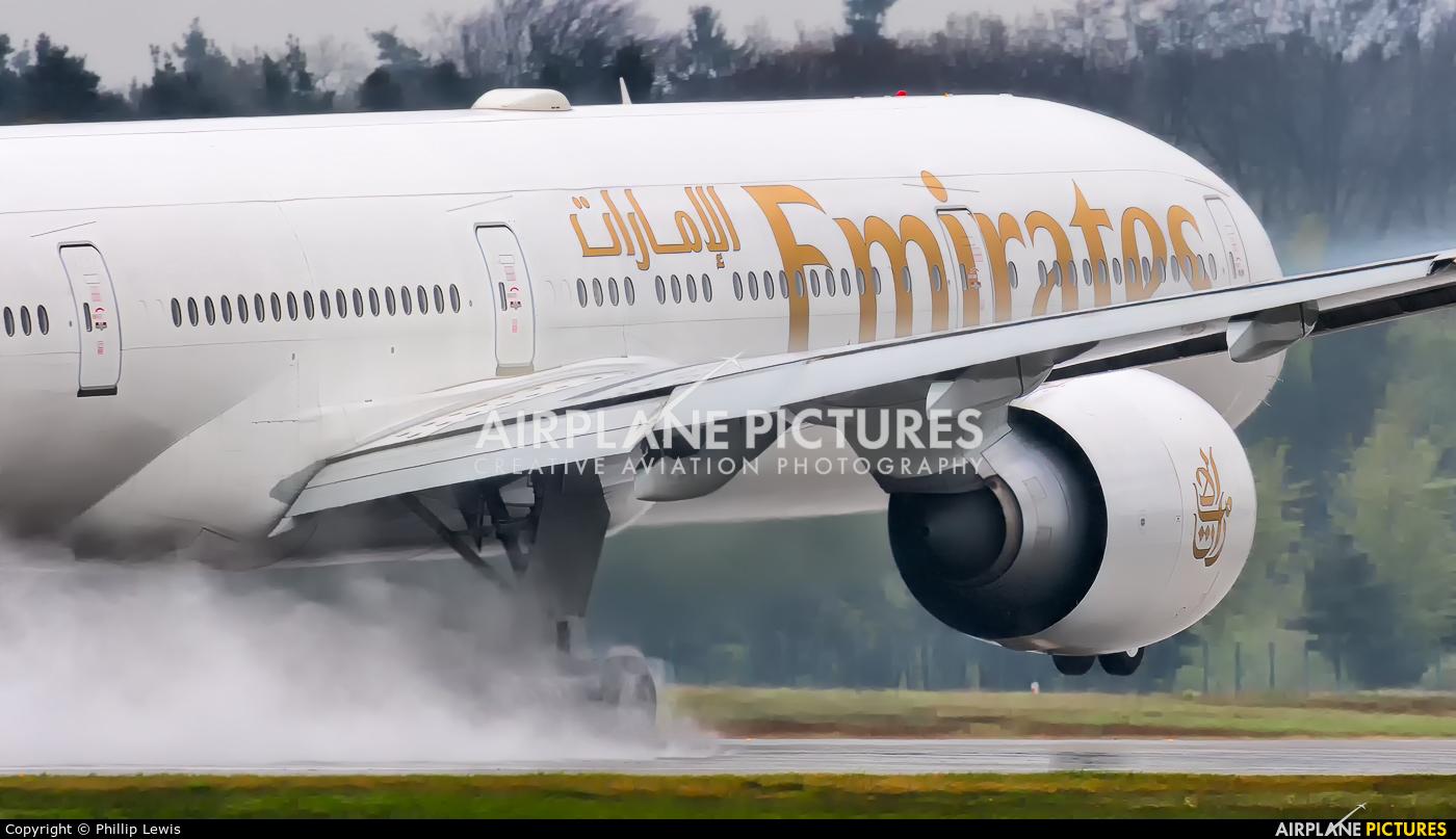 Emirates Airlines A6-ENI aircraft at Frankfurt