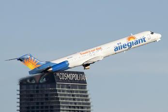N415NV - Allegiant Air McDonnell Douglas MD-82
