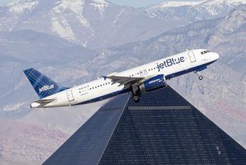 N663JB - JetBlue Airways Airbus A320