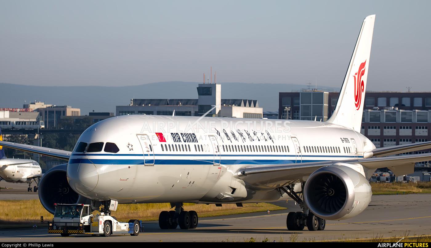 Air China B-7879 aircraft at Frankfurt