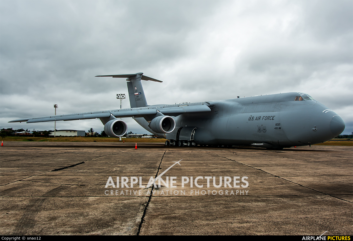 USA - Air Force 86-0021 aircraft at Asuncion - Silvio Pettirossi Intl