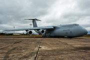 Lockheed C-5M Galaxy visits Asuncion  title=