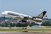 9V-SKS - Singapore Airlines Airbus A380 aircraft