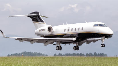 N670CP - Private Bombardier BD-100 Challenger 300 series