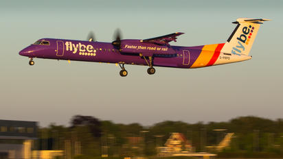 G-PRPD - Flybe de Havilland Canada DHC-8-400Q / Bombardier Q400