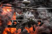 ZJ203 - UK - Army Air Corps Boeing AH-64D Apache aircraft