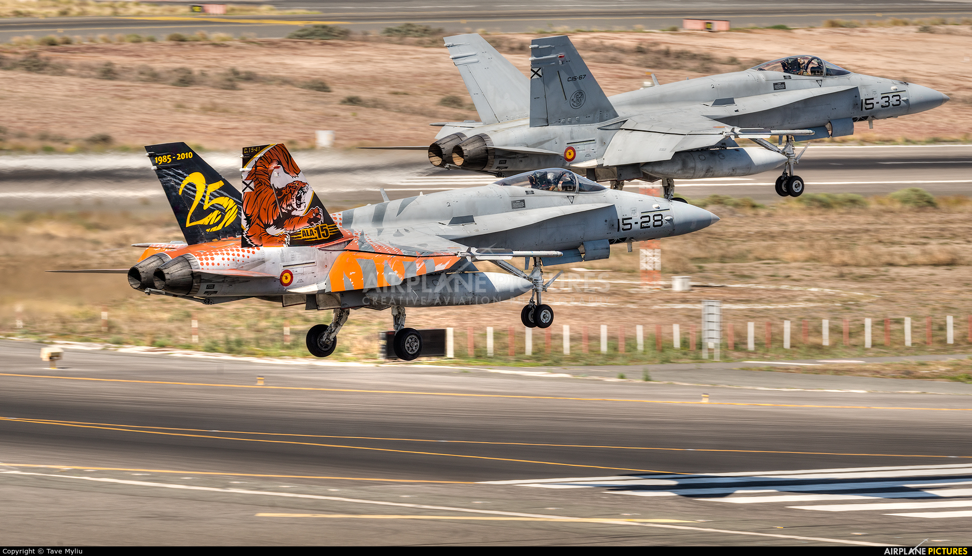 Spain - Air Force C.15-28 aircraft at Aeropuerto de Gran Canaria