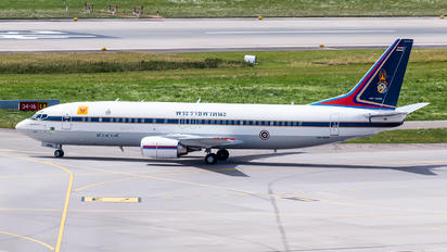 HS-HRH - Thailand - Air Force Boeing 737-400