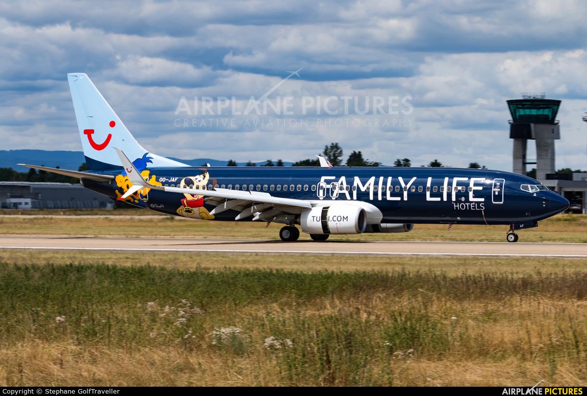 Jetairfly (TUI Airlines Belgium) OO-JAF aircraft at Strasbourg-Entzheim