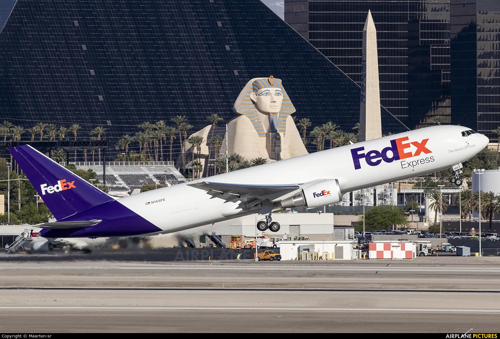 FedEx Federal Express N415FE aircraft at Las Vegas - McCarran Intl