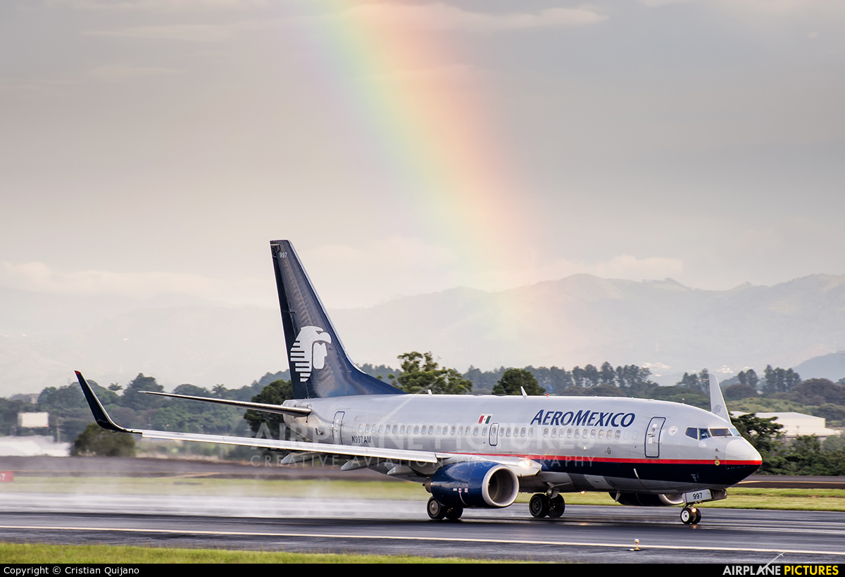 Aeromexico N997AM aircraft at San Jose - Juan Santamaría Intl