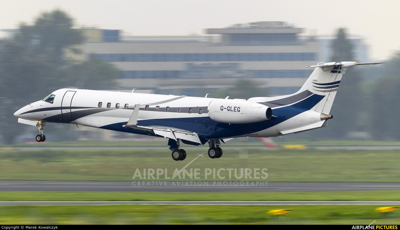 London Executive Aviation G-GLEG aircraft at Warsaw - Frederic Chopin