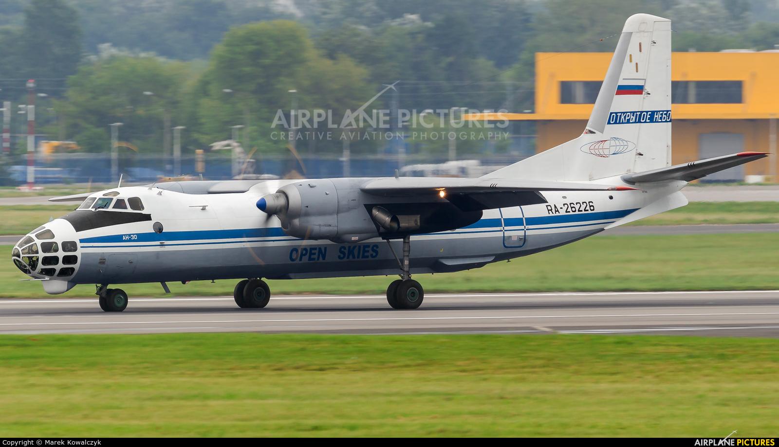 Russia - Air Force RA-26226 aircraft at Warsaw - Frederic Chopin