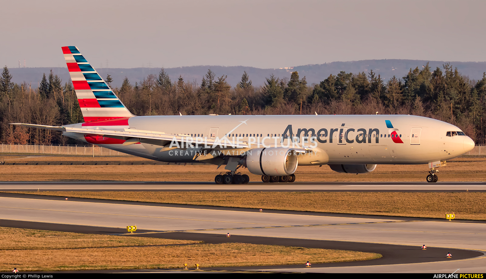 American Airlines N787AL aircraft at Frankfurt