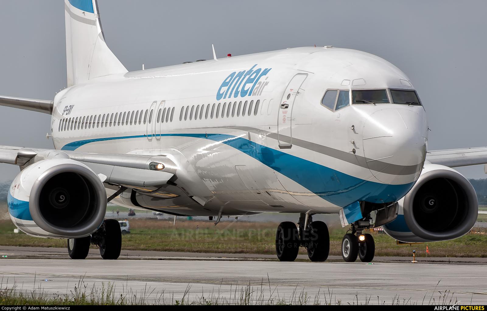 Enter Air SP-ENY aircraft at Katowice - Pyrzowice