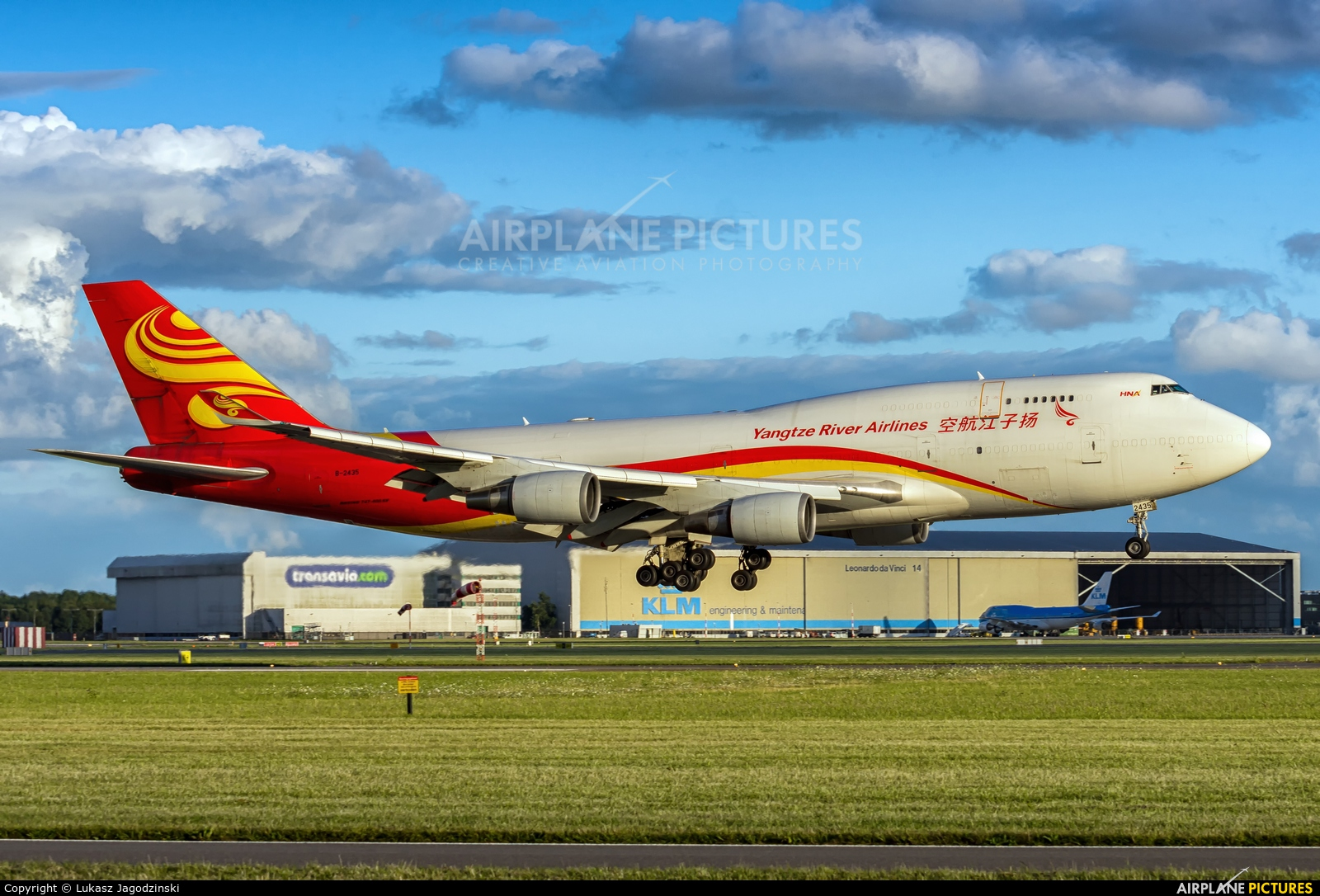 Yangtze River Airlines B-2435 aircraft at Amsterdam - Schiphol