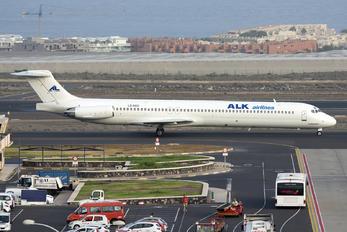 LZ-DEO - ALK Airlines McDonnell Douglas MD-82