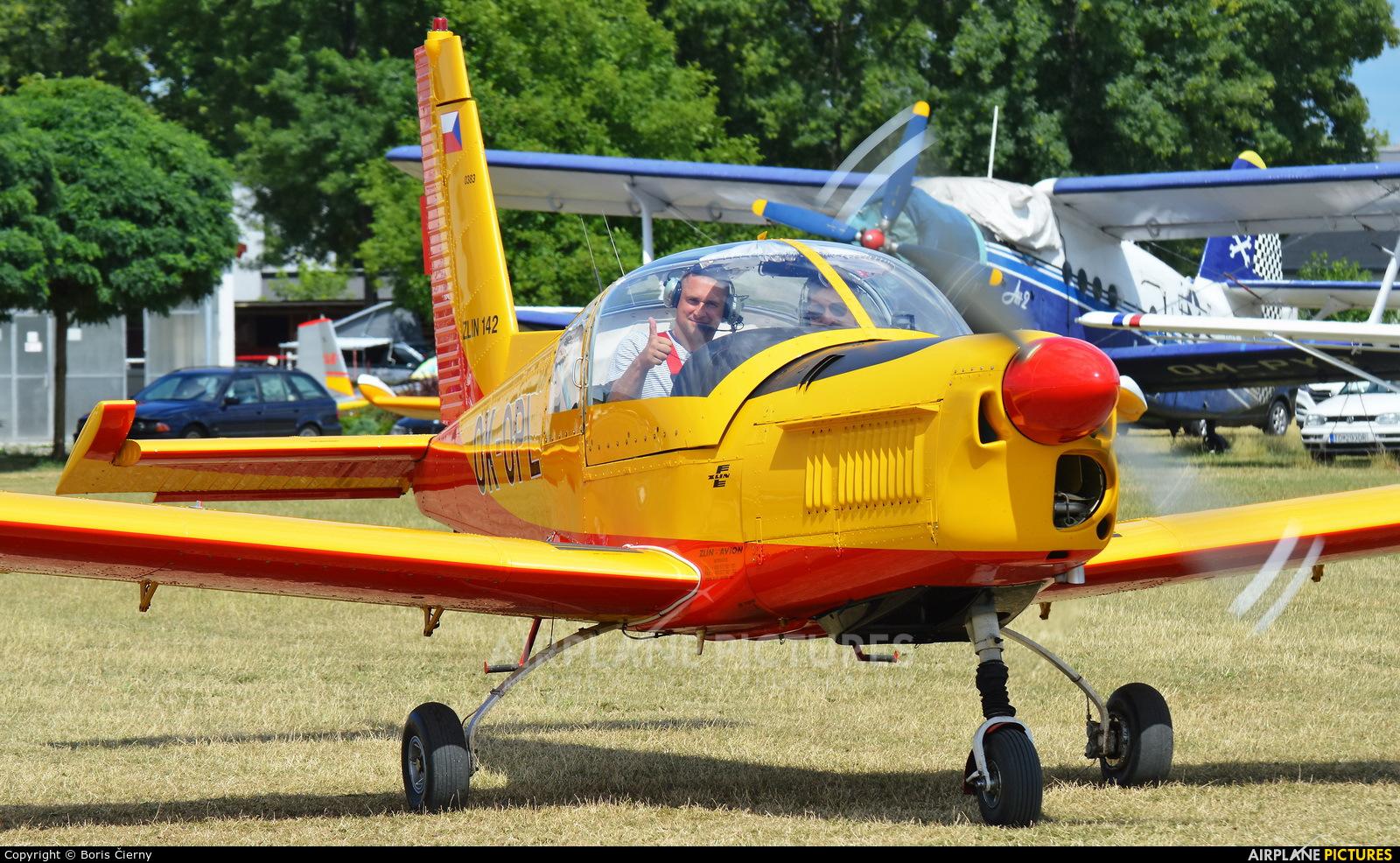 Private OK-OPL aircraft at Partizanske