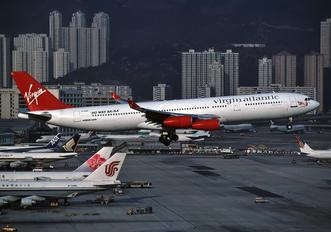 G-VAEL - Virgin Atlantic Airbus A340-300