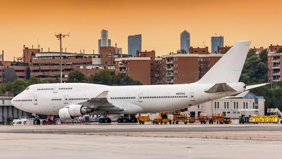 N835AS - Wamos Air Boeing 747-400