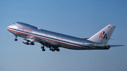 N9665 - American Airlines Boeing 747-100