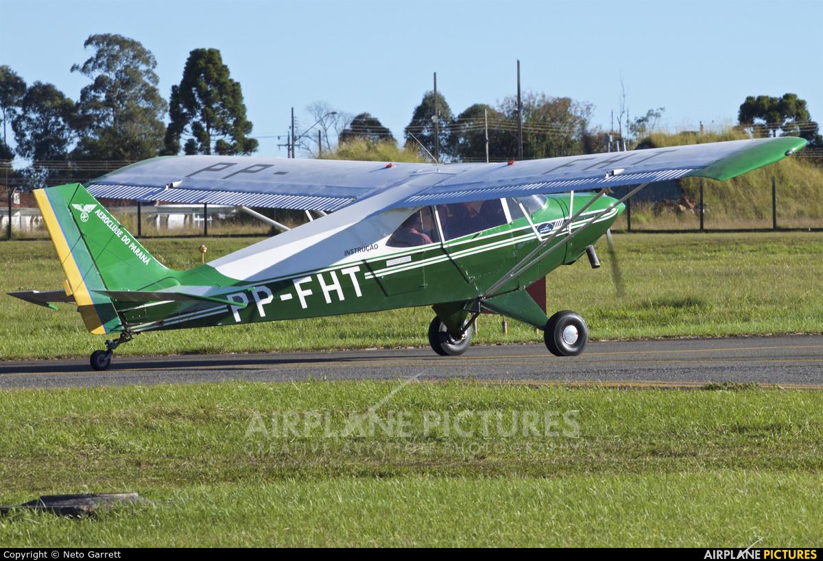 Aeroclube do Paraná PP-FHT aircraft at Curitiba - Bacacheri