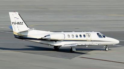 YU-BZZ - Private Cessna 550 Citation Bravo