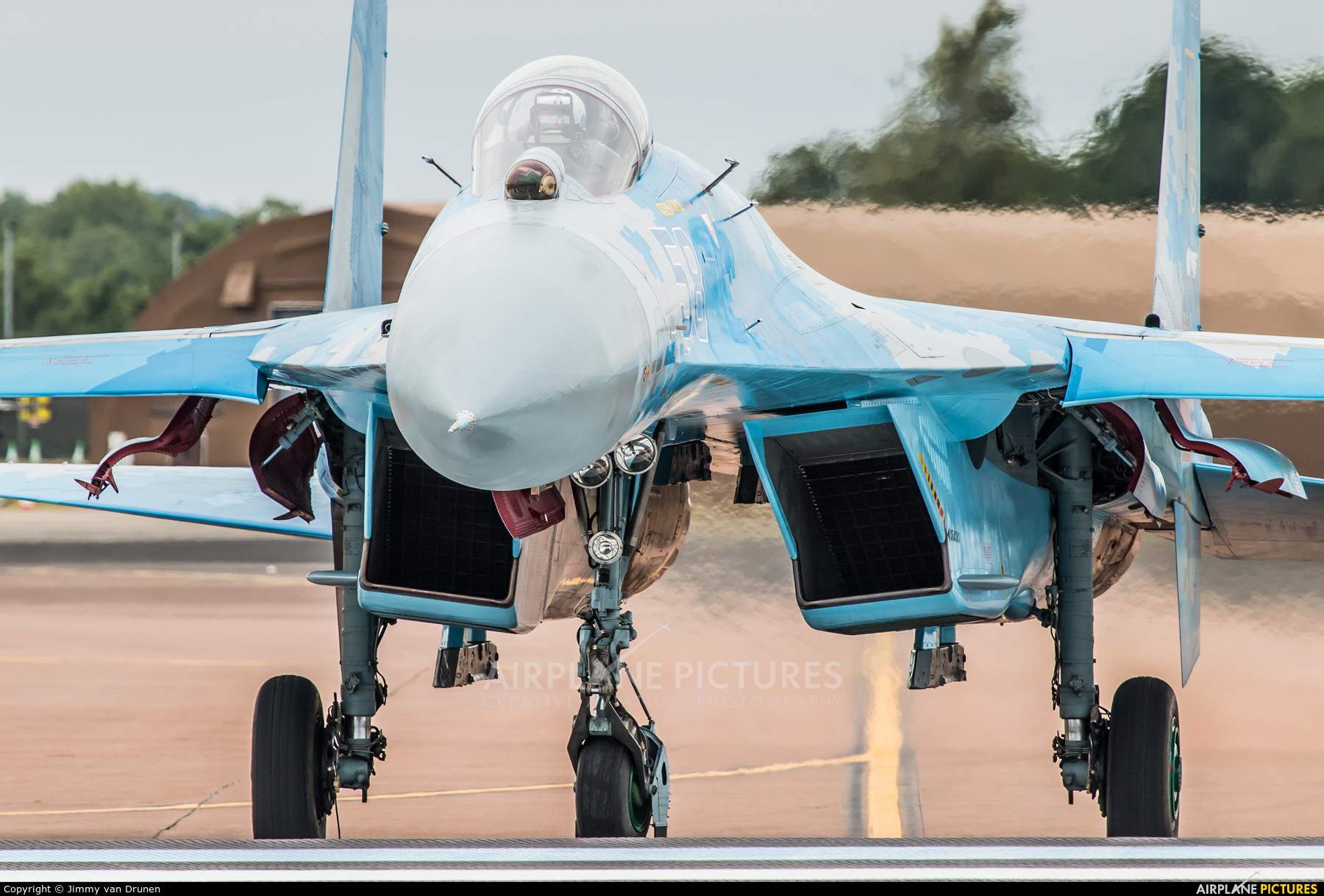 Ukraine - Air Force 58 aircraft at Fairford