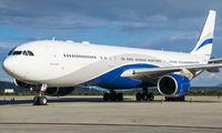 Rare visit of HiFly A345 to Queretaro title=