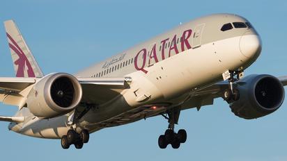 A7-BDD - Qatar Airways Boeing 787-8 Dreamliner