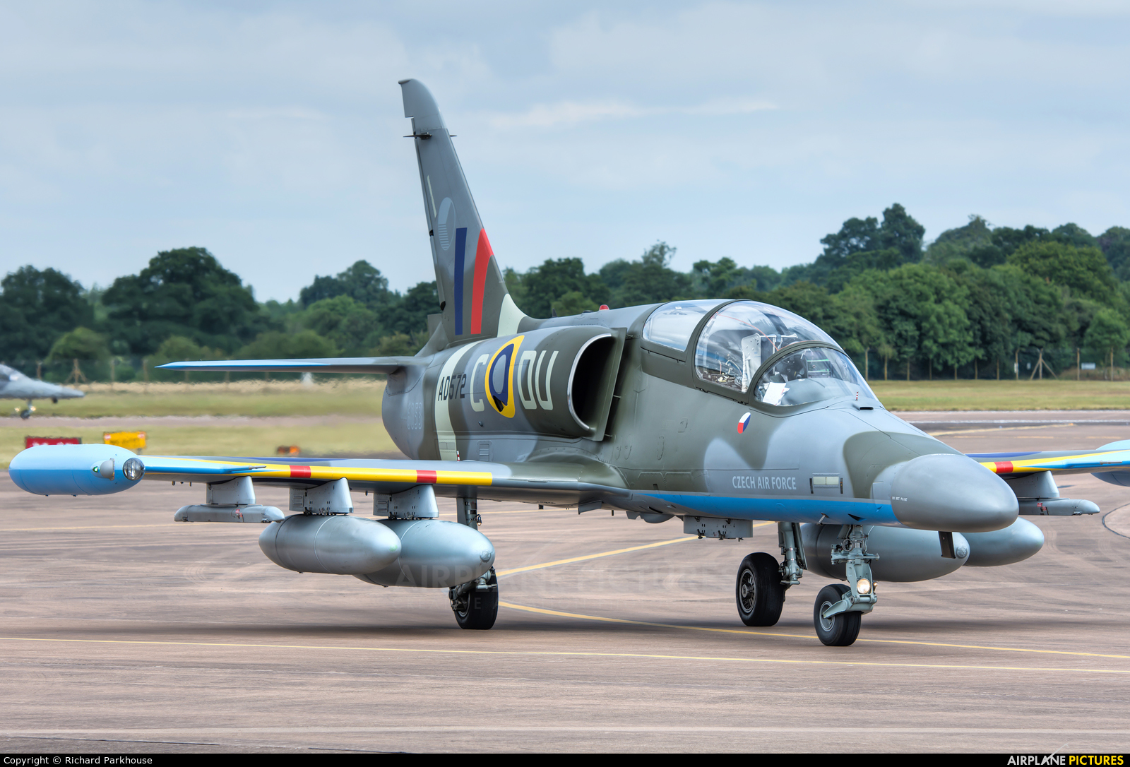 Czech - Air Force 6053 aircraft at Fairford