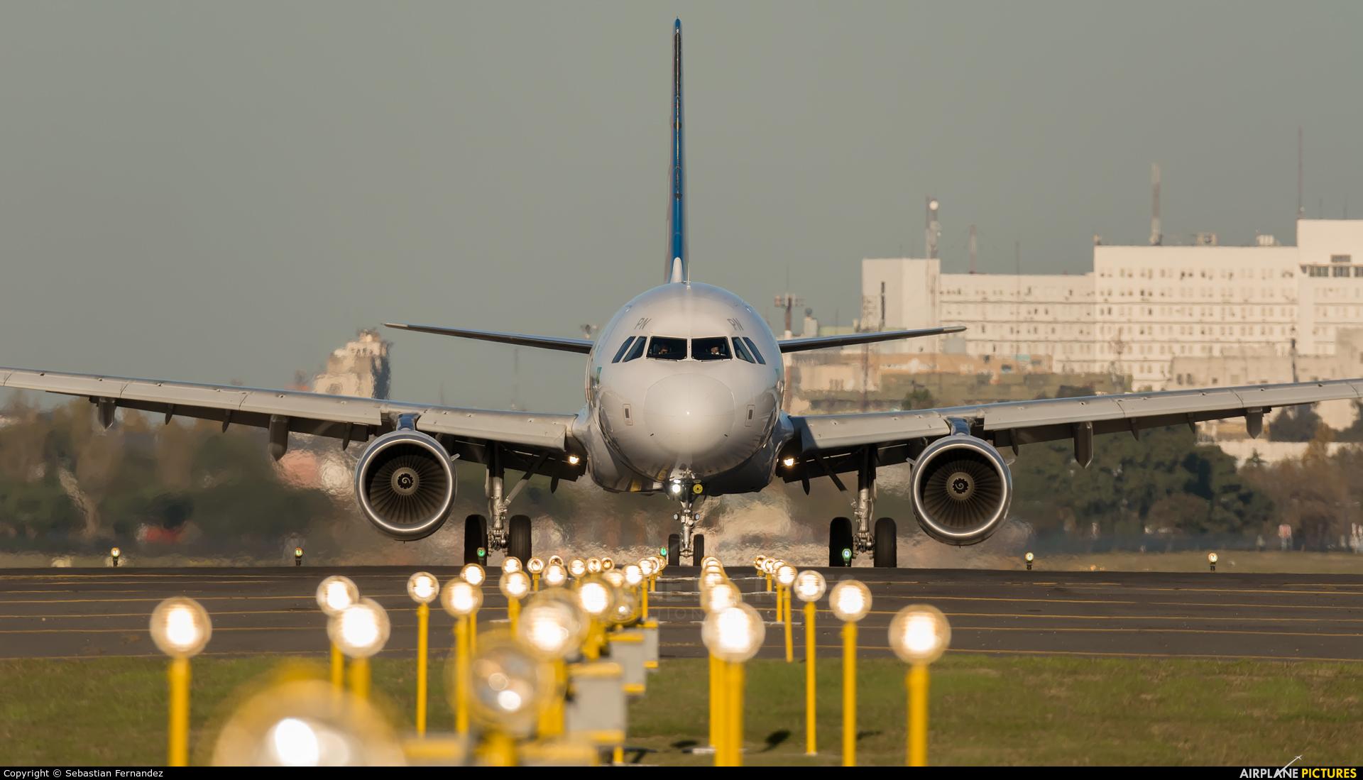TAM PT-XPN aircraft at Buenos Aires - Jorge Newbery