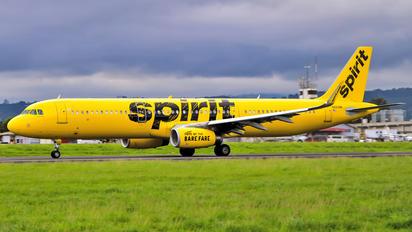 N660NK - Spirit Airlines Airbus A321