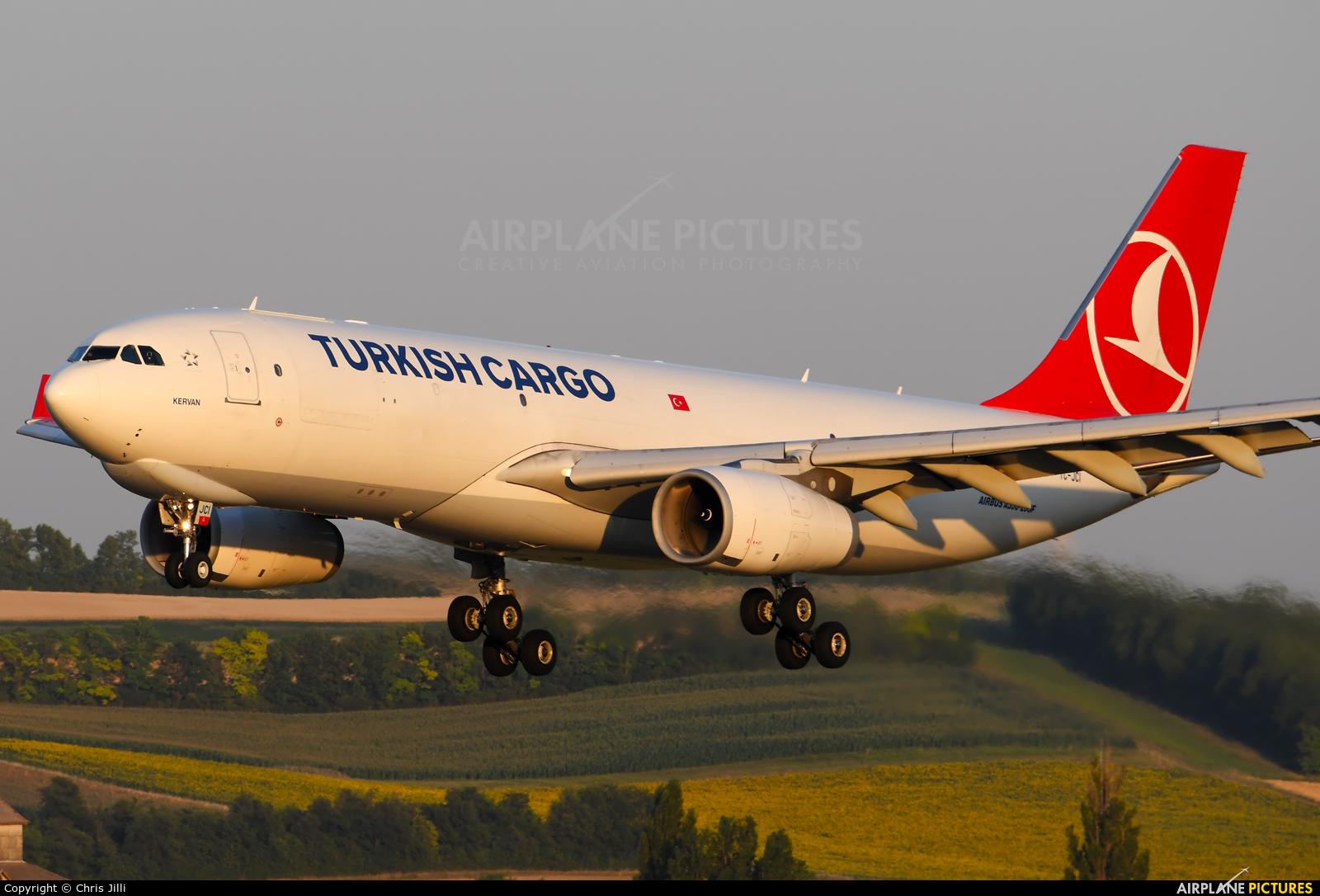 Turkish Cargo TC-JCI aircraft at Vienna - Schwechat