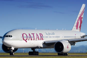A7-BBE - Qatar Airways Boeing 777-200LR