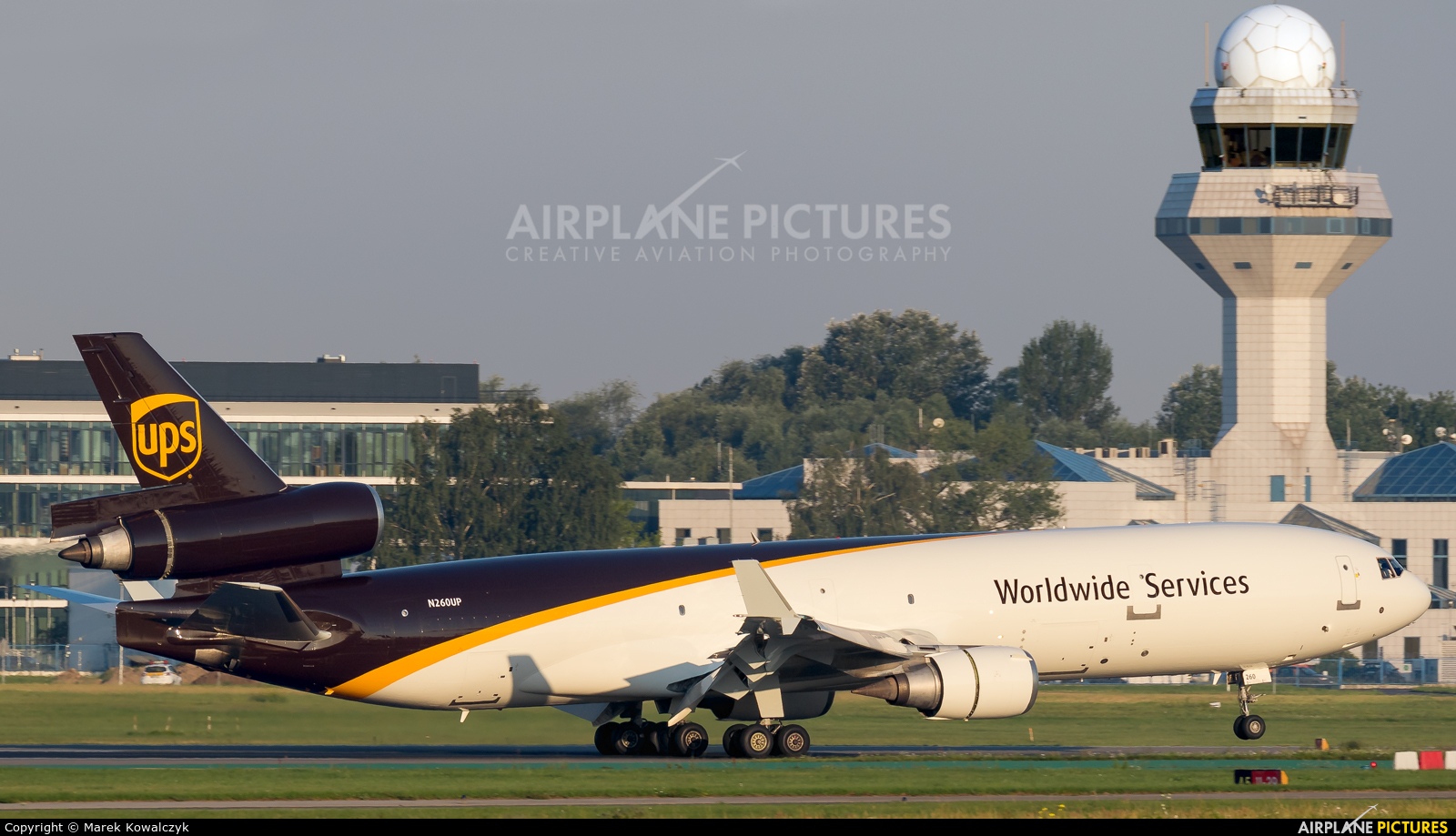UPS - United Parcel Service N260UP aircraft at Warsaw - Frederic Chopin