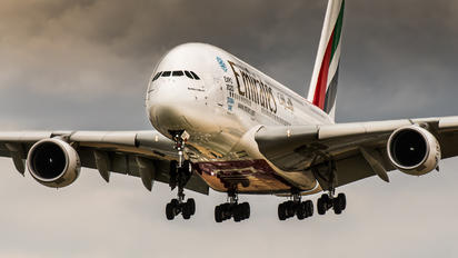 A6-EEG - Emirates Airlines Airbus A380