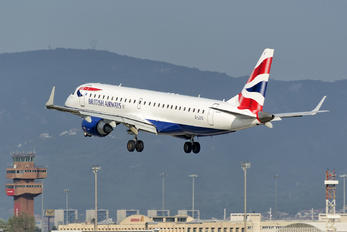 G-LCYS - British Airways - City Flyer Embraer ERJ-190 (190-100)