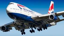 G-BNLK - British Airways Boeing 747-400 aircraft