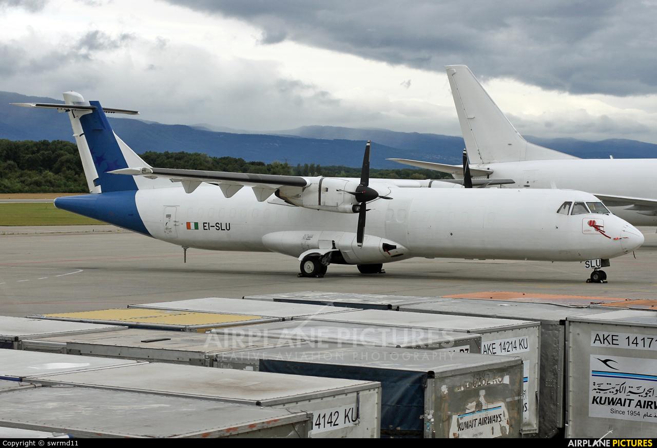 ASL Airlines EI-SLU aircraft at Geneva Intl