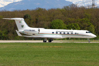 TU-VAE - Ivory Coast - Government Gulfstream Aerospace G-V, G-V-SP, G500, G550