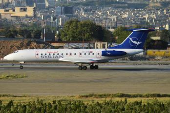 YK-AYB - Syrian Air Tupolev Tu-134B